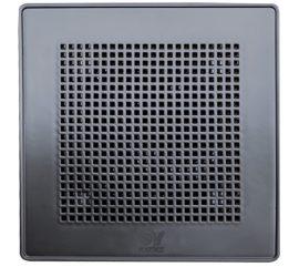"""Vortice ME 100/4"""" LL T Punto Evo PRÉMIUM fekete színű fürdőszoba, wc ventilátor, időkapcsolóval, előkésleltetéssel, IP45***"""