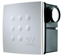 Vortice Micro 100 I T HCS radiális ventilátor süllyesztett házzal, állítható időkapcsolóval, páraérzékelővel, 2 év garanciával