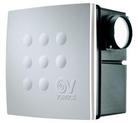 Vortice Medio I T HCS radiális ventilátor süllyesztett házzal, állítható időkapcsolóval, páraérzékelővel