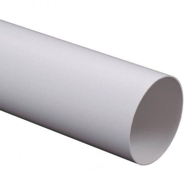 PVC szellőző merev cső NA100/1,5 méter hosszban